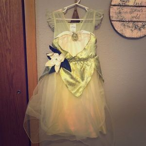 Disney store Tiana dress